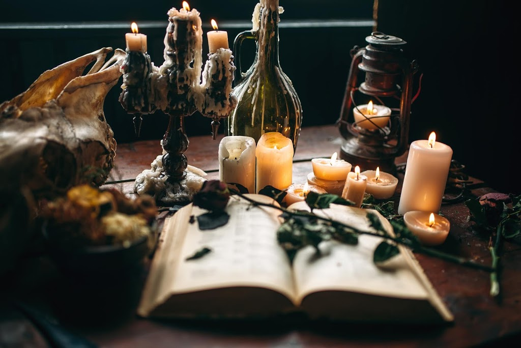 witchcraft dark magic candles with ritual book PGKRQAY - Spell: To Neutralise a Dangerous Enemy